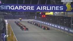 Enlace a Primera curva y Raikkonen, Verstappen y Vettel fuera de la carrera