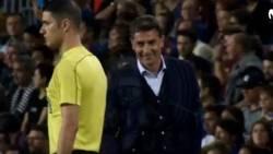 Enlace a El motivo por el que Míchel pidió al árbitro parar el Barça-Málaga