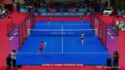 Enlace a Puntazo en la final femenina del Zaragoza Open