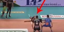 Enlace a Puntazo de voleibol salvando una bola perdida ¡con una zamorana!