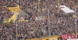 Enlace a Aficionados del Dynamo Dresden, club de la tercera división alemana