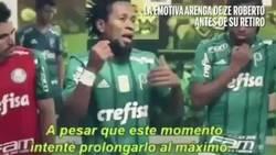 Enlace a Así arengaba Zé Roberto a sus compañeros en su último partido como profesional