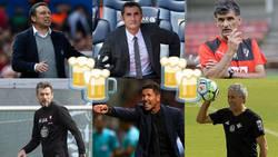 Enlace a ¿Con qué entrenador se irían de cañas los técnicos de Primera?