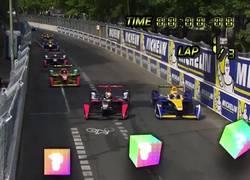 Enlace a Eurosport se imagina cómo sería la Formula E y Mario Kart