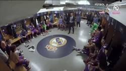 Enlace a Intenta no llorar con la charla previa de Zidane en la final de la duodécima. Pelos de punta