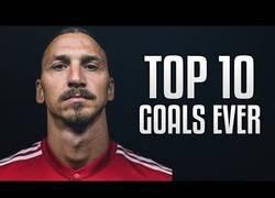 Enlace a Los 10 mejores goles de la carrera de Ibrahimovic