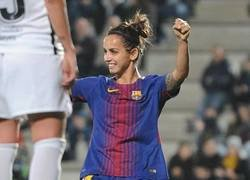 Enlace a Golazo Olímpico de la azulgrana Natasha Andonova contra el Valencia