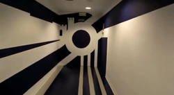 Enlace a El increíble efecto óptico del túnel de vestuarios del Málaga con el que vas a flipar
