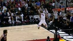 Enlace a Bam Adebayo, el novato que desafía a la gravedad con uno de los 'alley oops' del año en la NBA