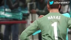 Enlace a Repescando hoy este vídeo para representar cómo fue el Madrid ayer contra la Juventus