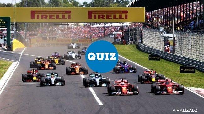 1033084 - QUIZ: ¿Cuánto sabes sobre Fórmula1?