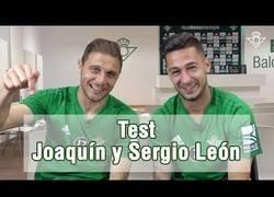 Enlace a El TEST más absurdo a JOAQUÍN y SERGIO LEÓN
