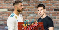 Enlace a Ramos vs. Messi, los momentos más sucios. Lo que Ramos le hizo a Salah no es sorpresa