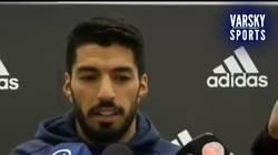Enlace a Lucho Suárez se emociona al ser consultado por los compañeros de Uruguay que se quedaron fuera de la lista de 23