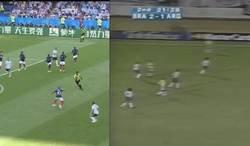 Enlace a Hace 20 años Ronaldo Nazario hizo exactamente la misma jugada que Mbappé y también contra Argentina