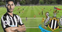 Enlace a El español Ayoze Pérez marca este golazo en el entreno del Newcastle