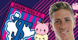 Enlace a El cántico que prepararon a Torres en su debut con el Sagan Tosu. Tierno.