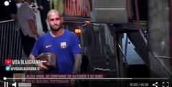 Enlace a Aleix Vidal la lía y se sube al autobús del Tottenham, ¿qué le debieron decir?