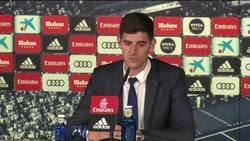 Enlace a Courtois explica por qué se siente del Real Madrid desde pequeño