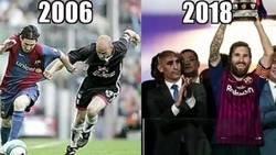 Enlace a Cuando Messi bailó a Rubiales y le hizo un traje a medida