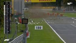 Enlace a Es casi un milagro, tras este terrible accidente de Ericsson a 350 km/h