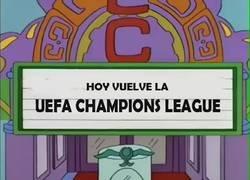 Enlace a Probando el sonido de la Champions