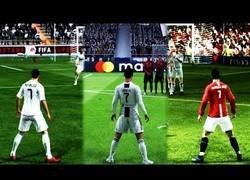 Enlace a Así han evolucionado los tiros libres desde el FIFA 94