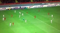Enlace a Gol de Portugal ante Polonia. Atención a la asistencia de Rúben Neves y el control de Rafa Silva
