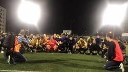 Enlace a Espectacular celebración del Sant Andreu por su pase a 16avos en la Copa del Rey