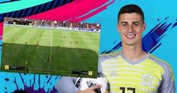 Enlace a El golazo de Kepa de portería a portería en el FIFA19