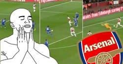 Enlace a Özil, Lacazette y Aubameyang se combinan perfectamente para marcar el gol perfecto