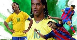 Enlace a 10 cosas que solo Ronaldinho Gaucho fue capaz de hacer