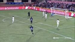 Enlace a La increíble doble parada del portero del Real Madrid en la final de LaLiga Promises