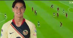 Enlace a Así juega Diego Lainez, la joya mexicana que ha fichado el Real Betis