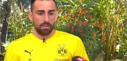 Enlace a El 'dardo' de Paco Alcácer al FC Barcelona sobre su falta de minutos y su explosión en Alemania