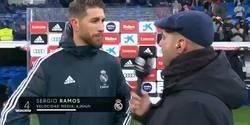 Enlace a Sergio Ramos la lía a lo grande soltando esta perla tras finalizar el partido vs Sevilla