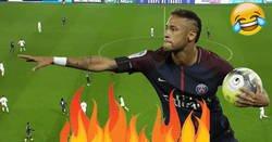 Enlace a La increíble venganza de Neymar a un defensa que lo cazó fuerte