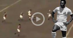 Enlace a El gol favorito de Pelé no fue grabado por ninguna cámara, y ahora lo han recreado por ordenador según sus indicaciones. ¿Se ha flipado?