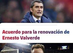 Enlace a Cierto croata estará contento con la renovación de Valverde
