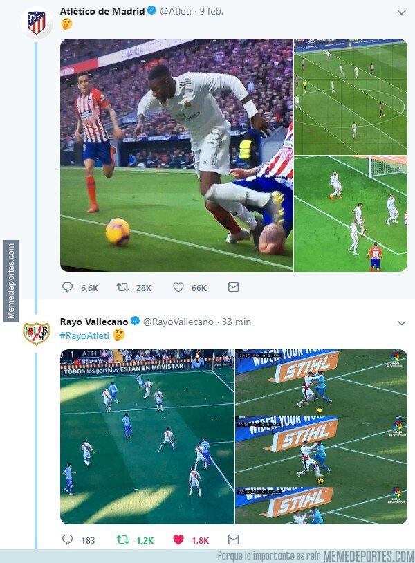 1064695 - El Rayo Vallecano le contesta al Atlético de Madrid con un zasca brutal del que se sabrá hasta el final de los tiempos