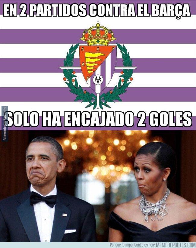 1064700 - El Valladolid ha dado la cara frente a los culés