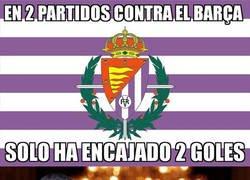 Enlace a El Valladolid ha dado la cara frente a los culés