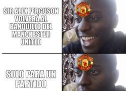 Enlace a Esto es jugar con los sentimientos de los hinchas del United