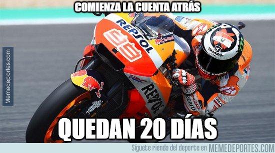 1064757 - 20 días para que empiece Moto GP