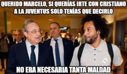 Enlace a Cruel manera la de Marcelo para decir que quiere marcharse