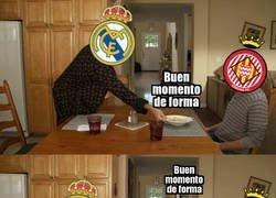 Enlace a Al Girona le dio igual cómo llegaba el Madrid
