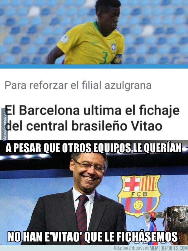 1064940 - El Barça tiene cerrao' a Vitao