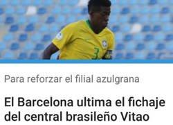 Enlace a El Barça tiene cerrao' a Vitao