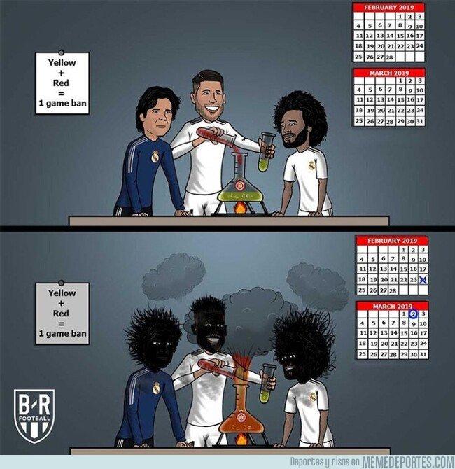 1064942 - El experimento de Ramos con las tarjetas no acabó de salir bien, por @brfootball
