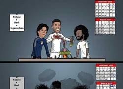 Enlace a El experimento de Ramos con las tarjetas no acabó de salir bien, por @brfootball